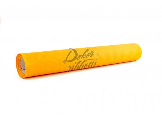 Papír vlnkovaný 50 cm - tmavě žlutá