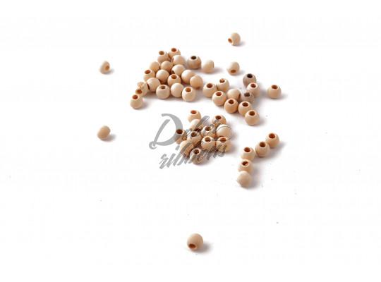 Dřevěné perličky 50 ks