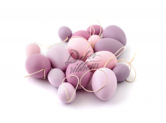 Plastové vajíčka MIX, 16 ks