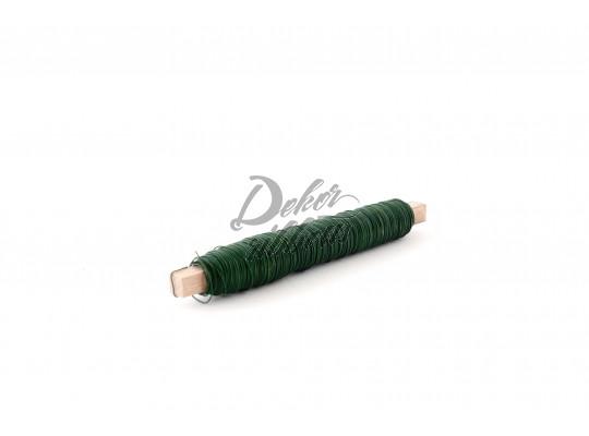 Vázací drát zelený