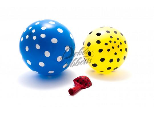 Balónky s puntíky, 30 cm