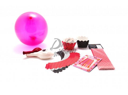 Party set - červený