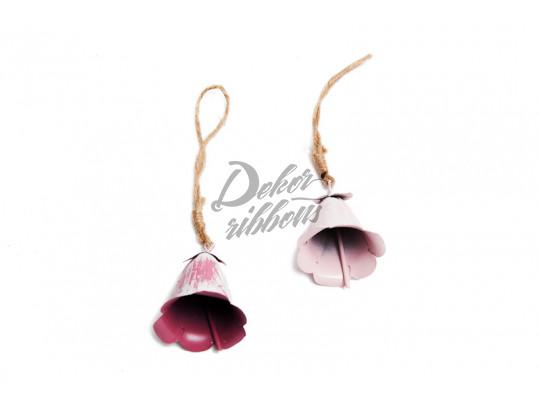 Plechový zvonek - Tulipán