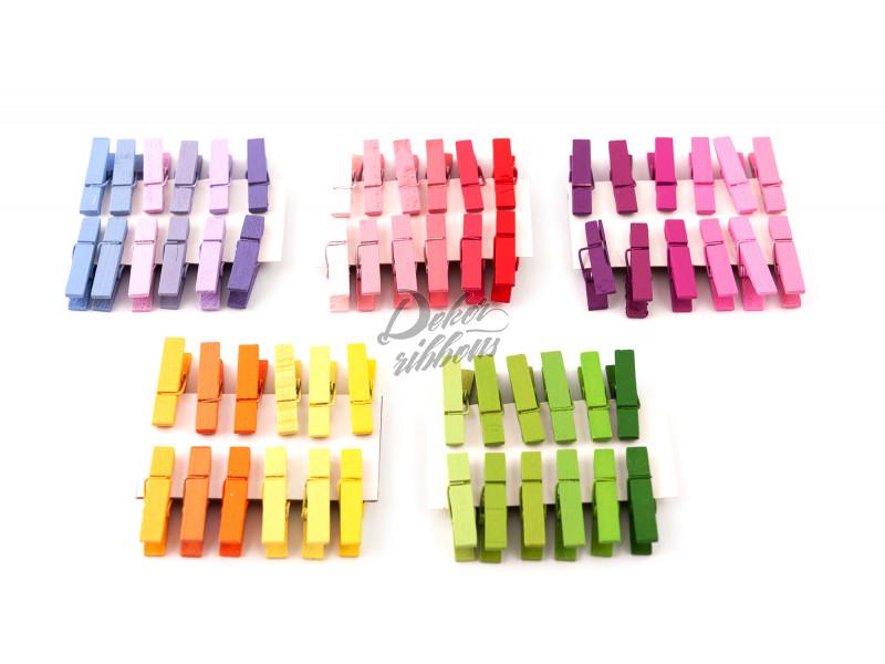 Barevné kolíčky 3,5 cm