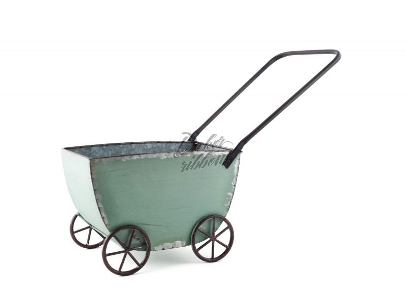Plechový vozík