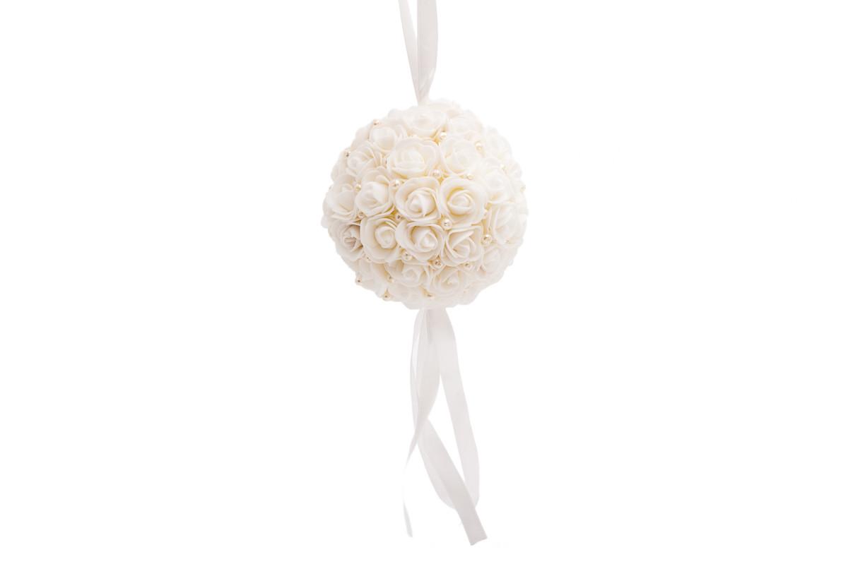 Koule s růžičkami 15 cm