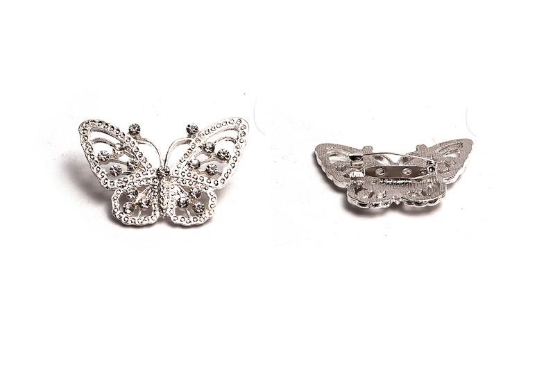 Brož - motýl 30 x 48 mm