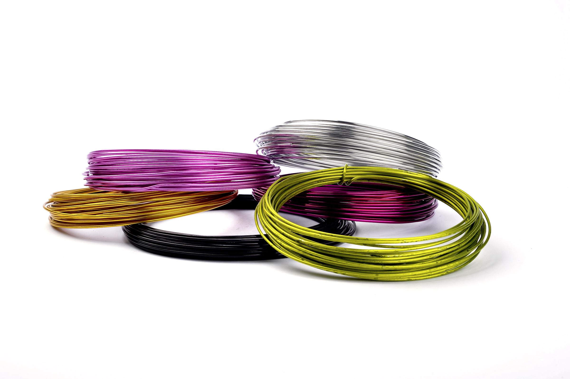 Alu drát -  RING 2 mm