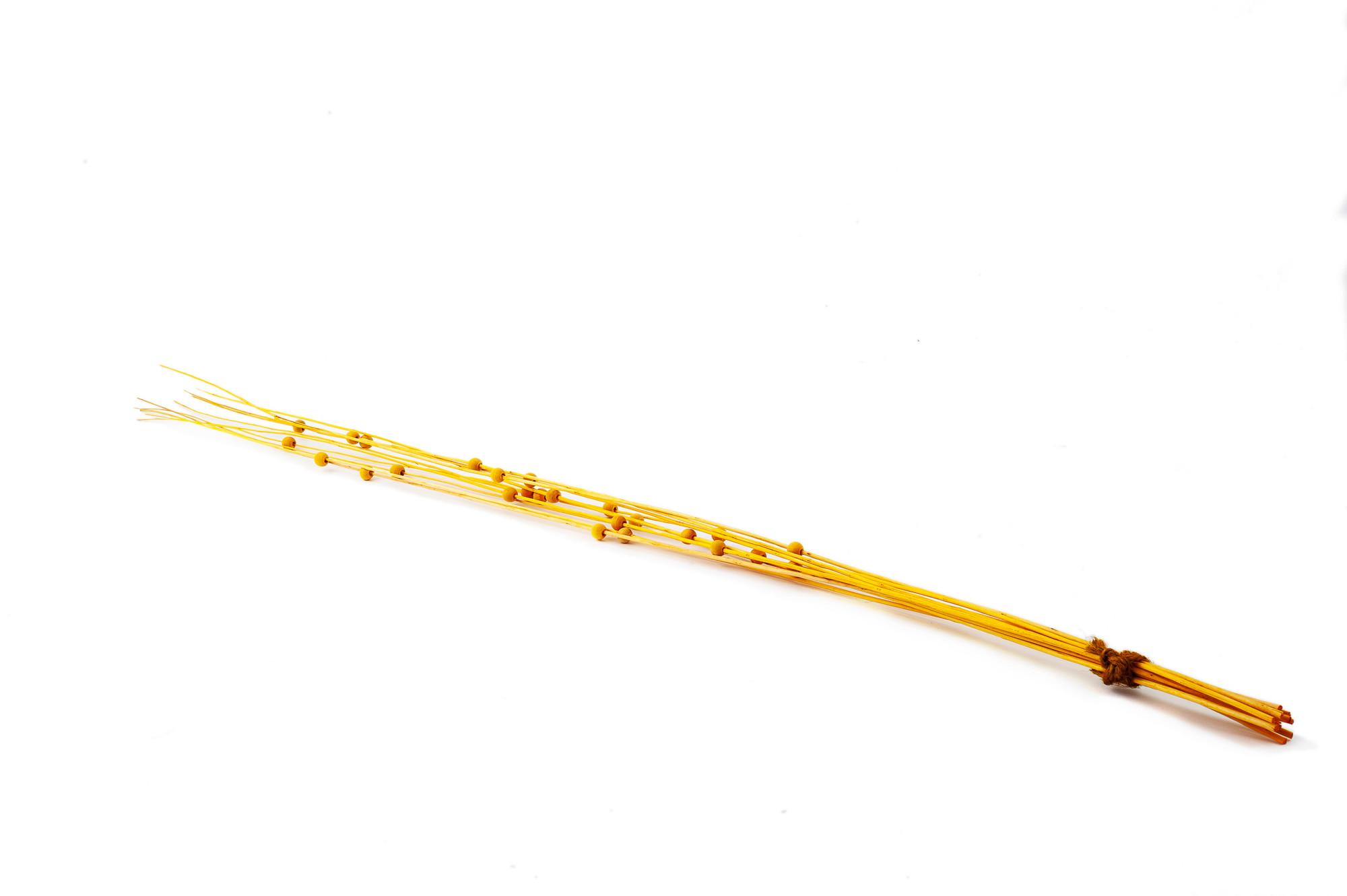 Pruty s dřevěnými kuličkami 80 cm