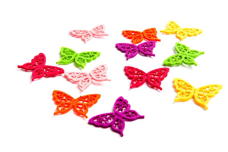 motýl filcový