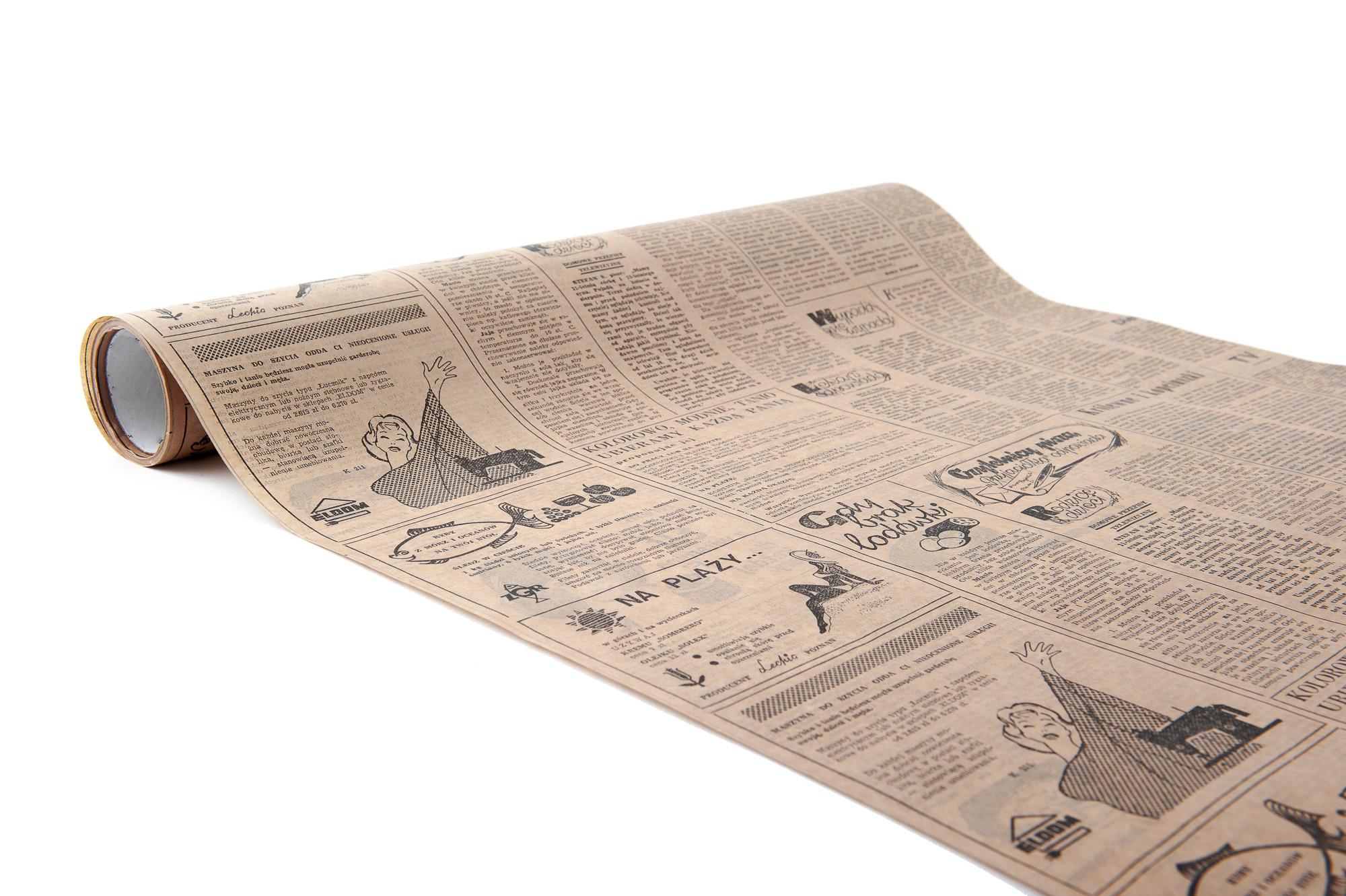 Papír NOVINY 50 cm, 10 m