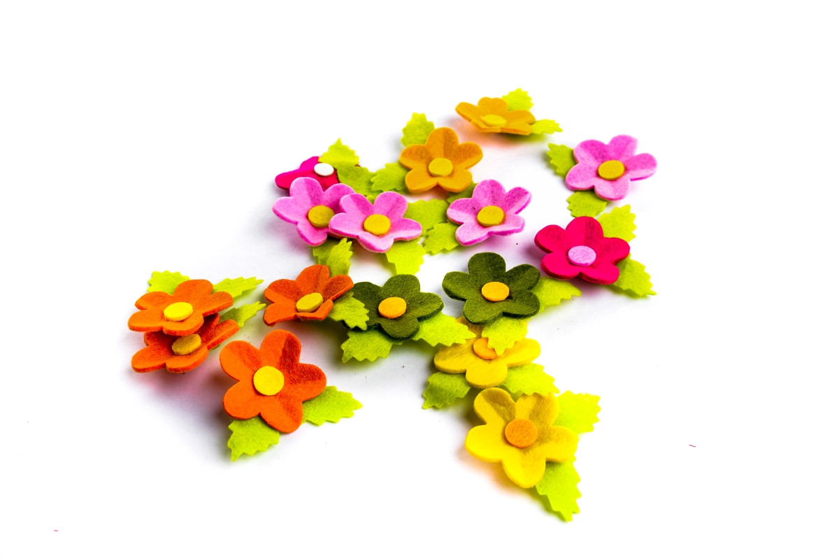 květ s lístkem 16 ks