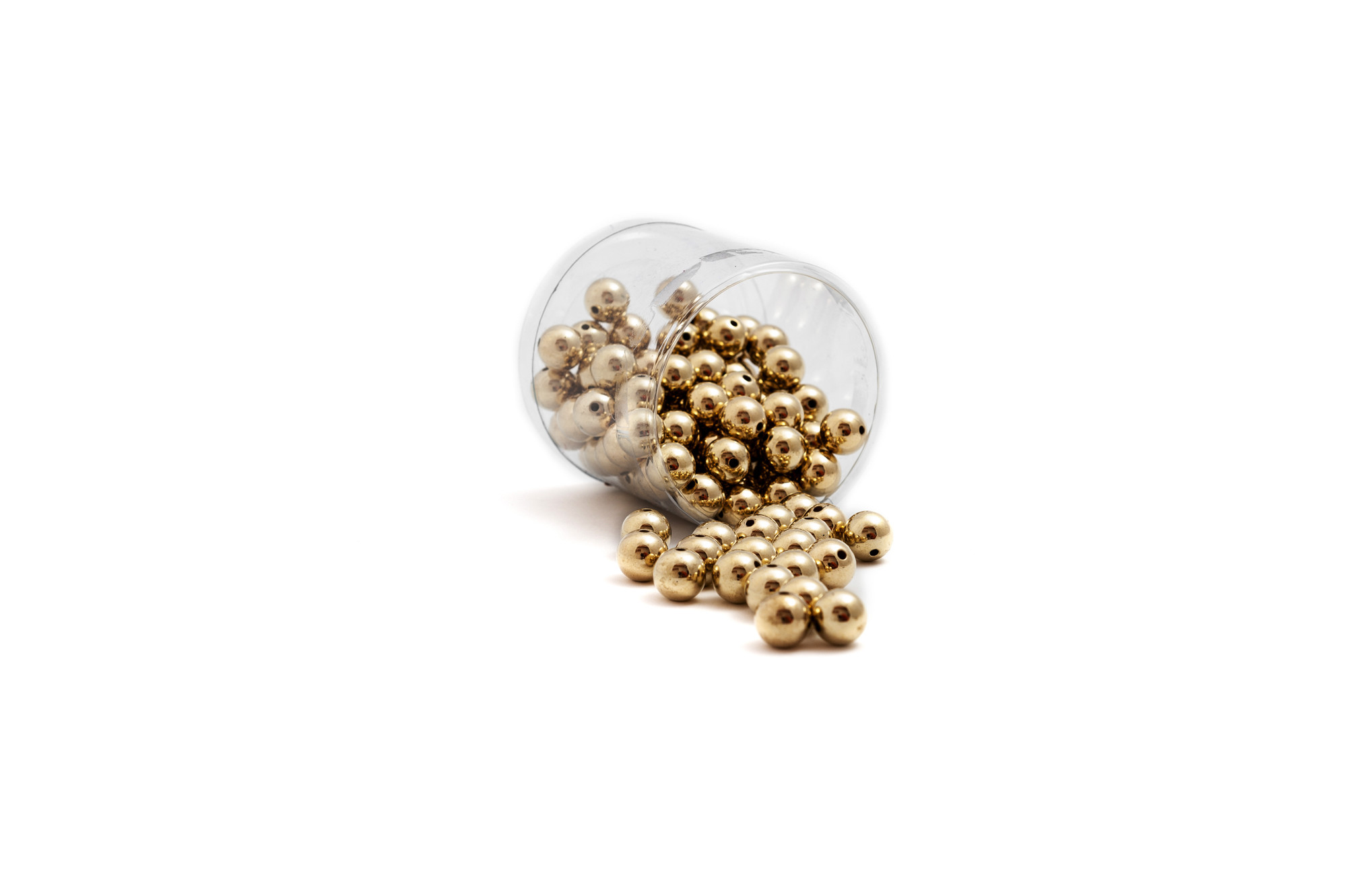 Perličky metalické 14 mm