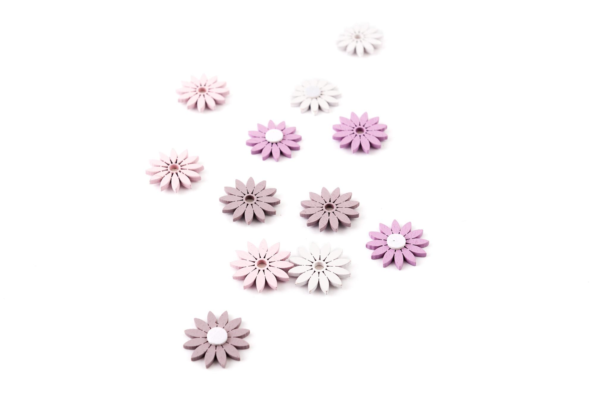 Květ, nálepka, 12 ks