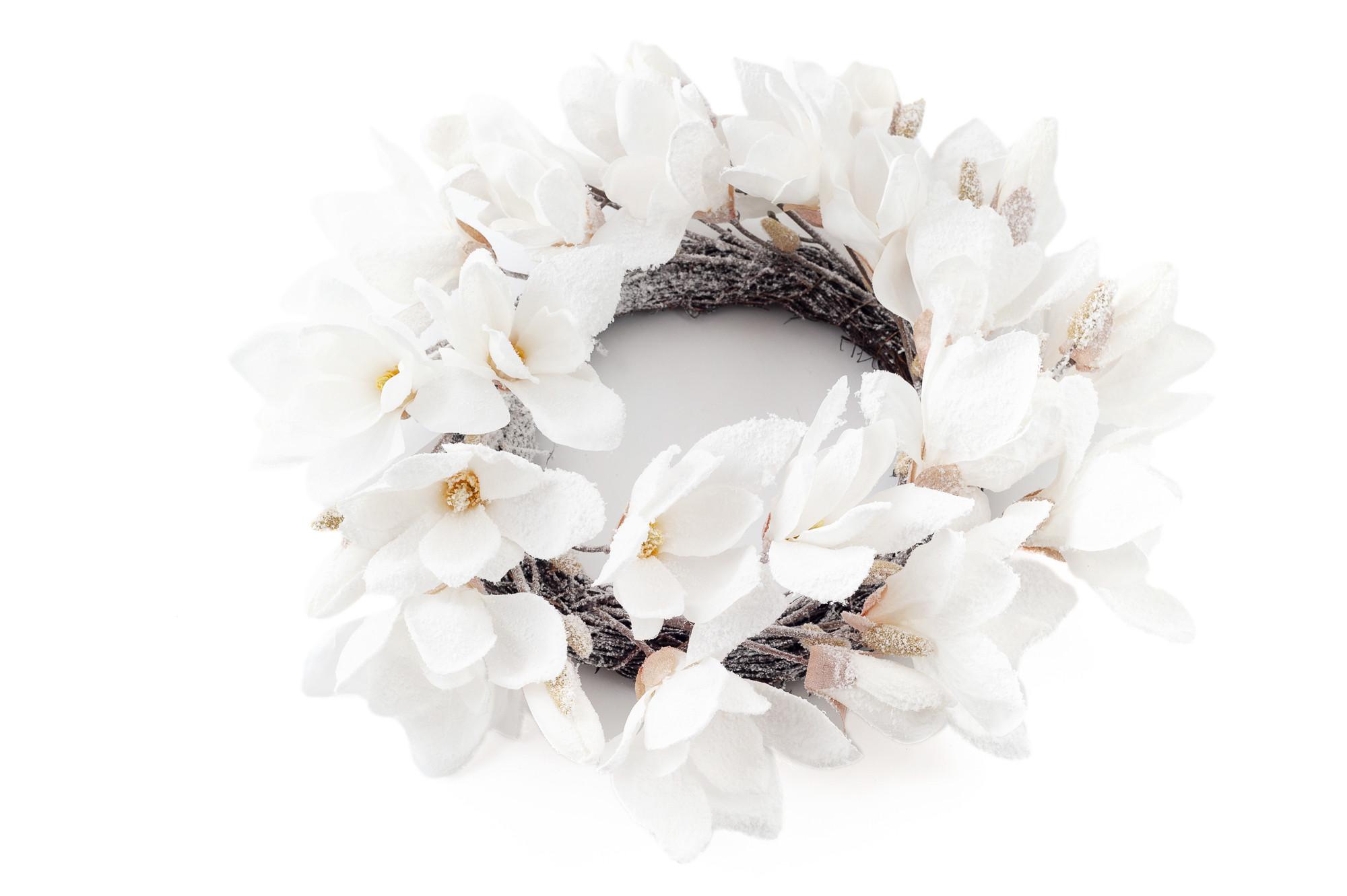 Věnec z magnolií, 50 cm