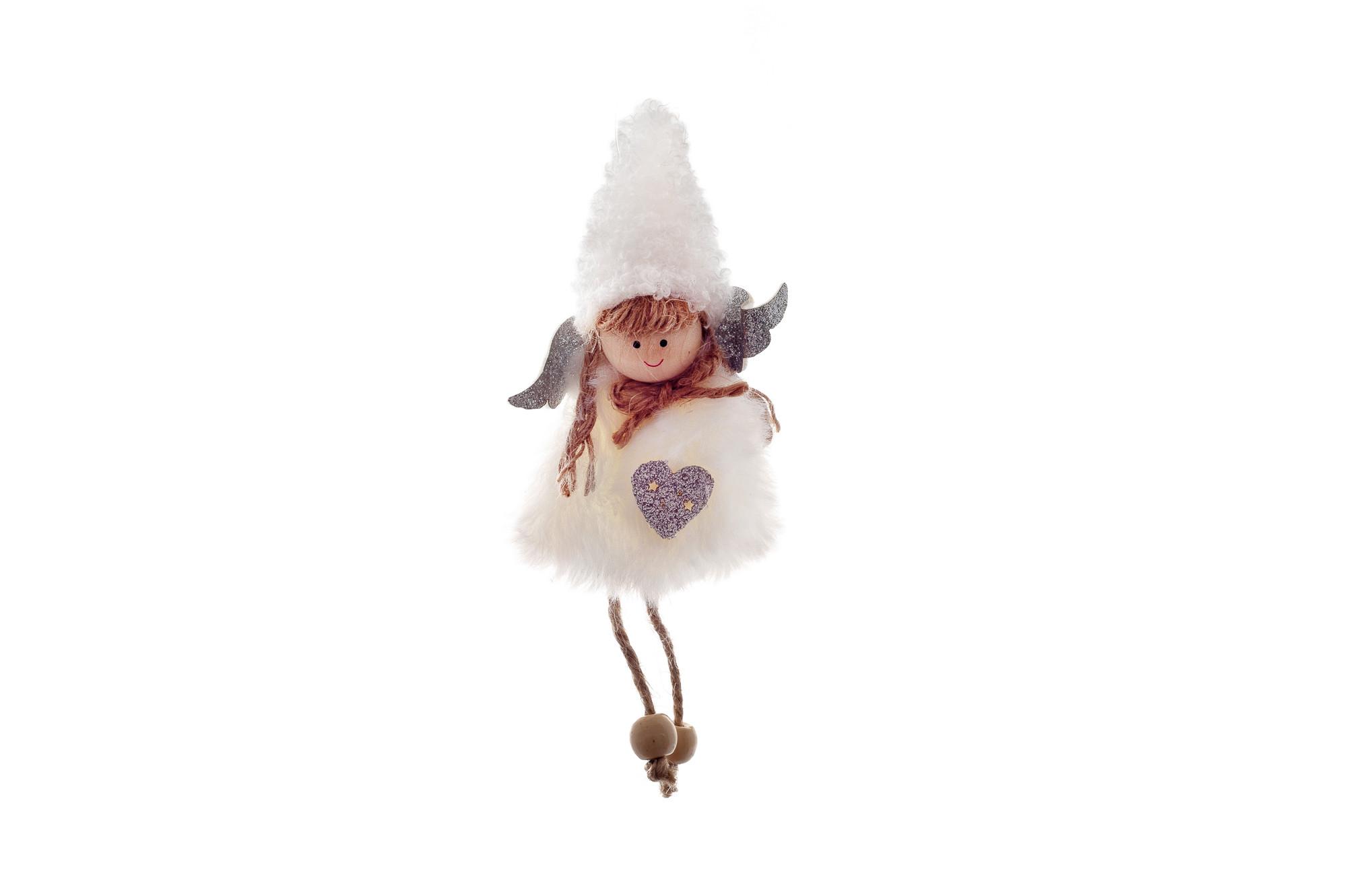 Plyšová andělka, 16 cm