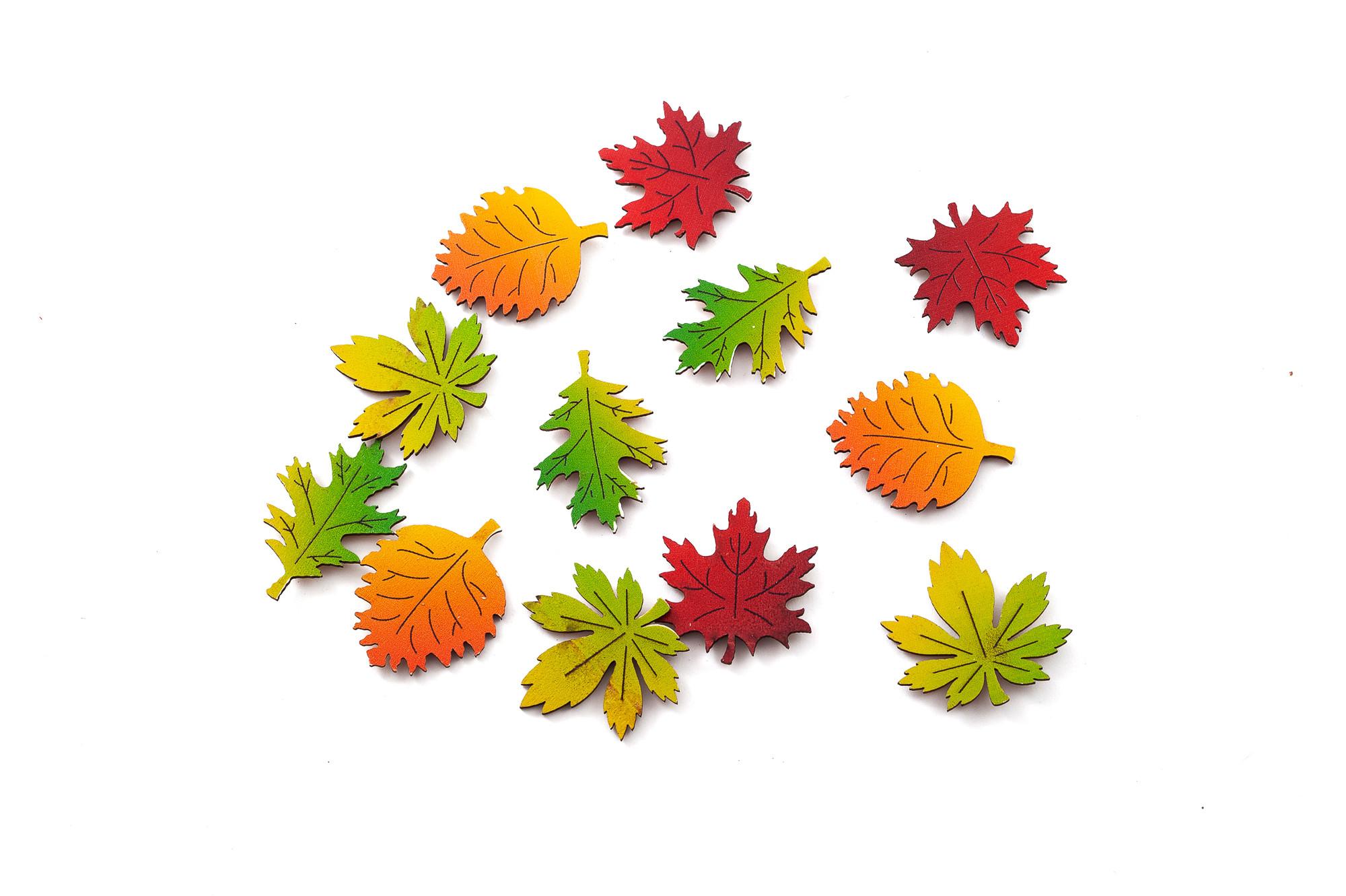 Podzimní listy, 12 ks