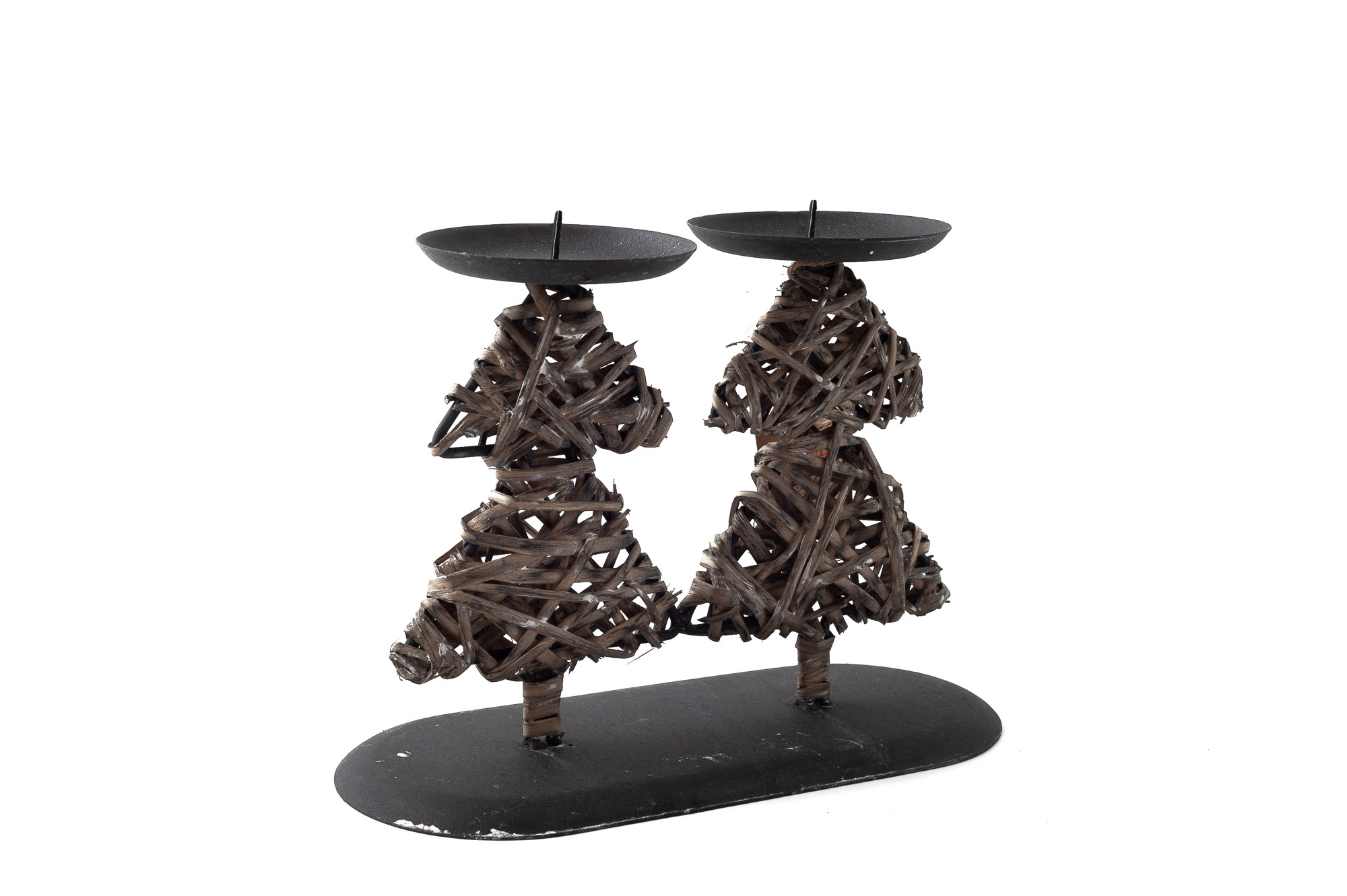 Dvojitý svícen Stromeček