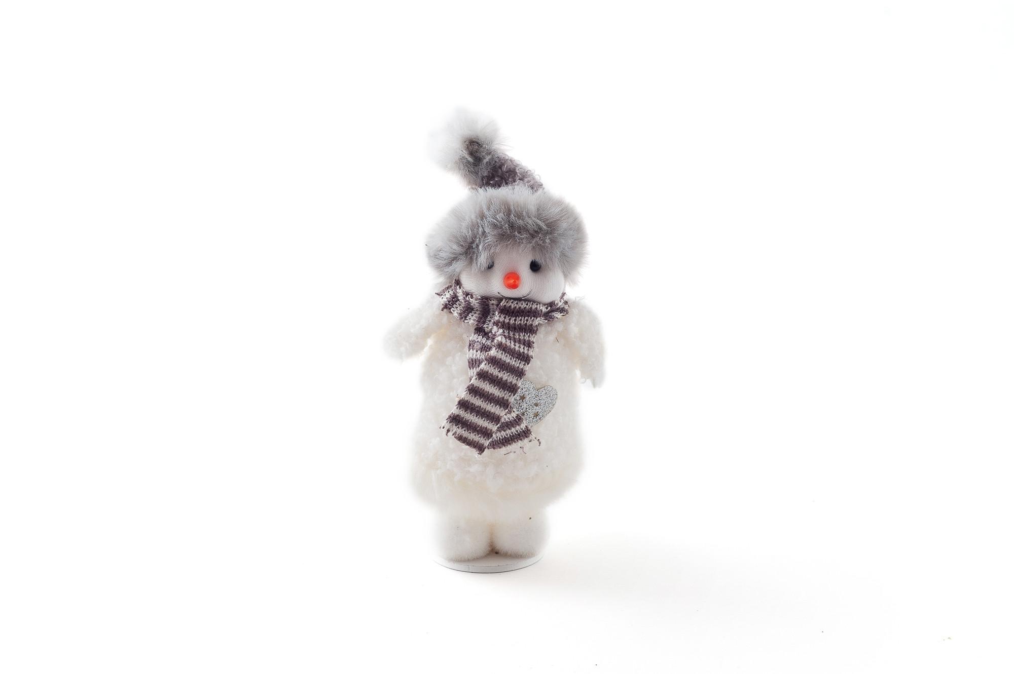 Sněhuláček 14 cm, 4 ks