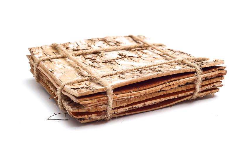 Pláty z březové kůry 20 x15 cm
