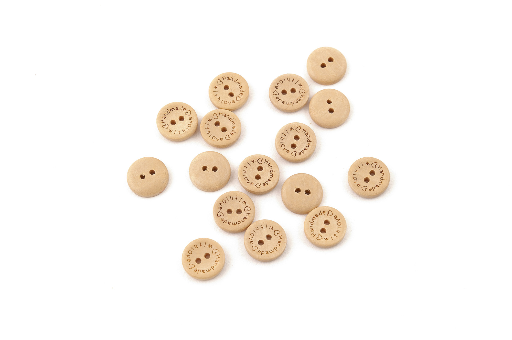 Dřevěné knoflíky 1,5 cm