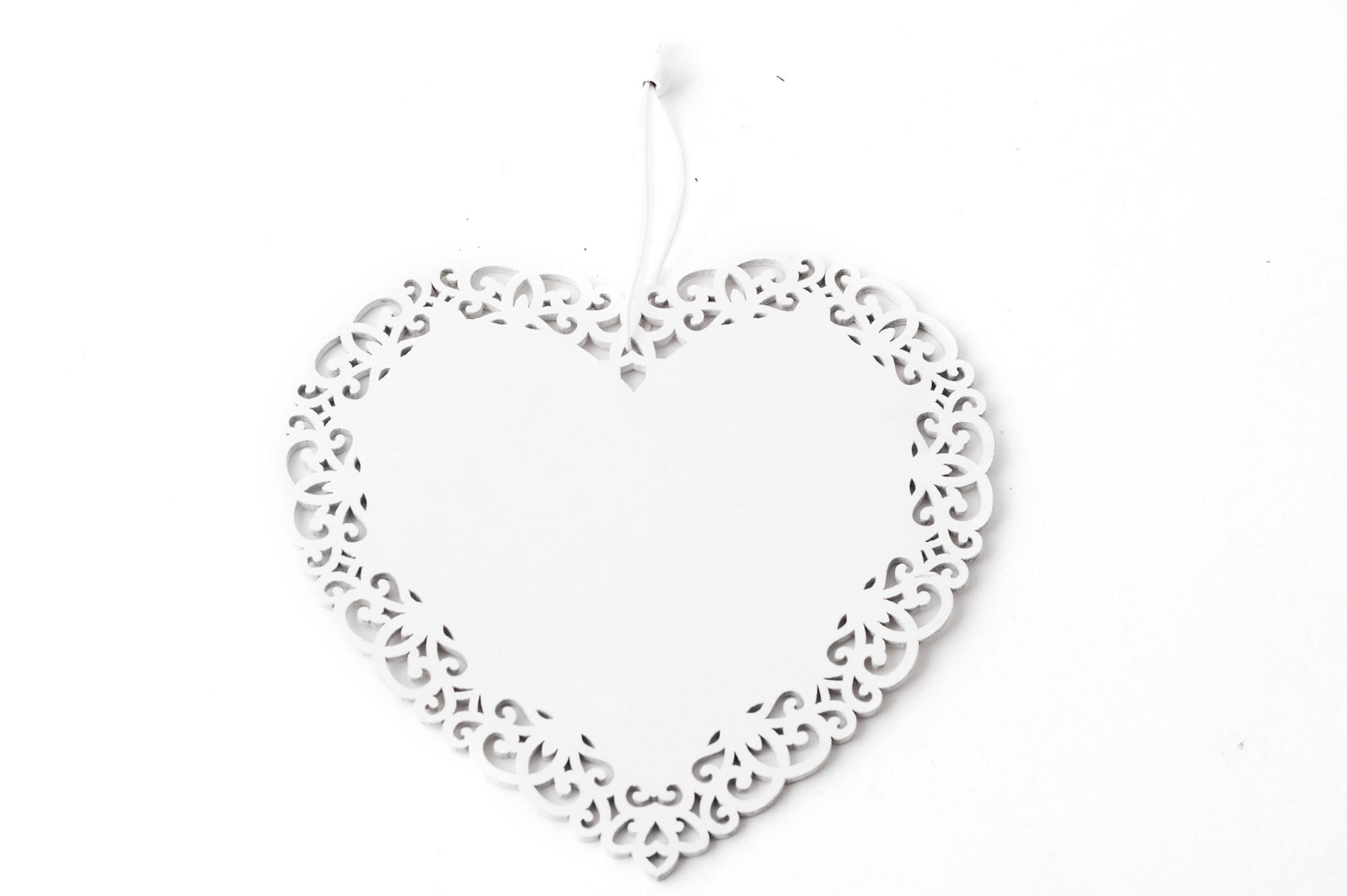 Srdce 15 cm, závěs