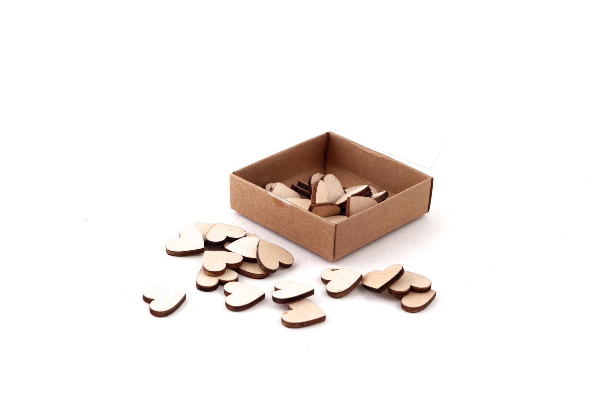 Srdíčka - konfety