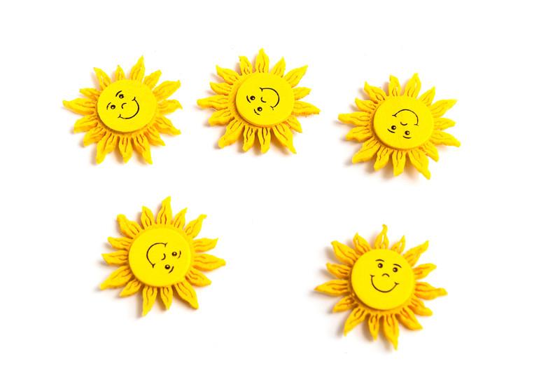 Sluníčko s úsměvem