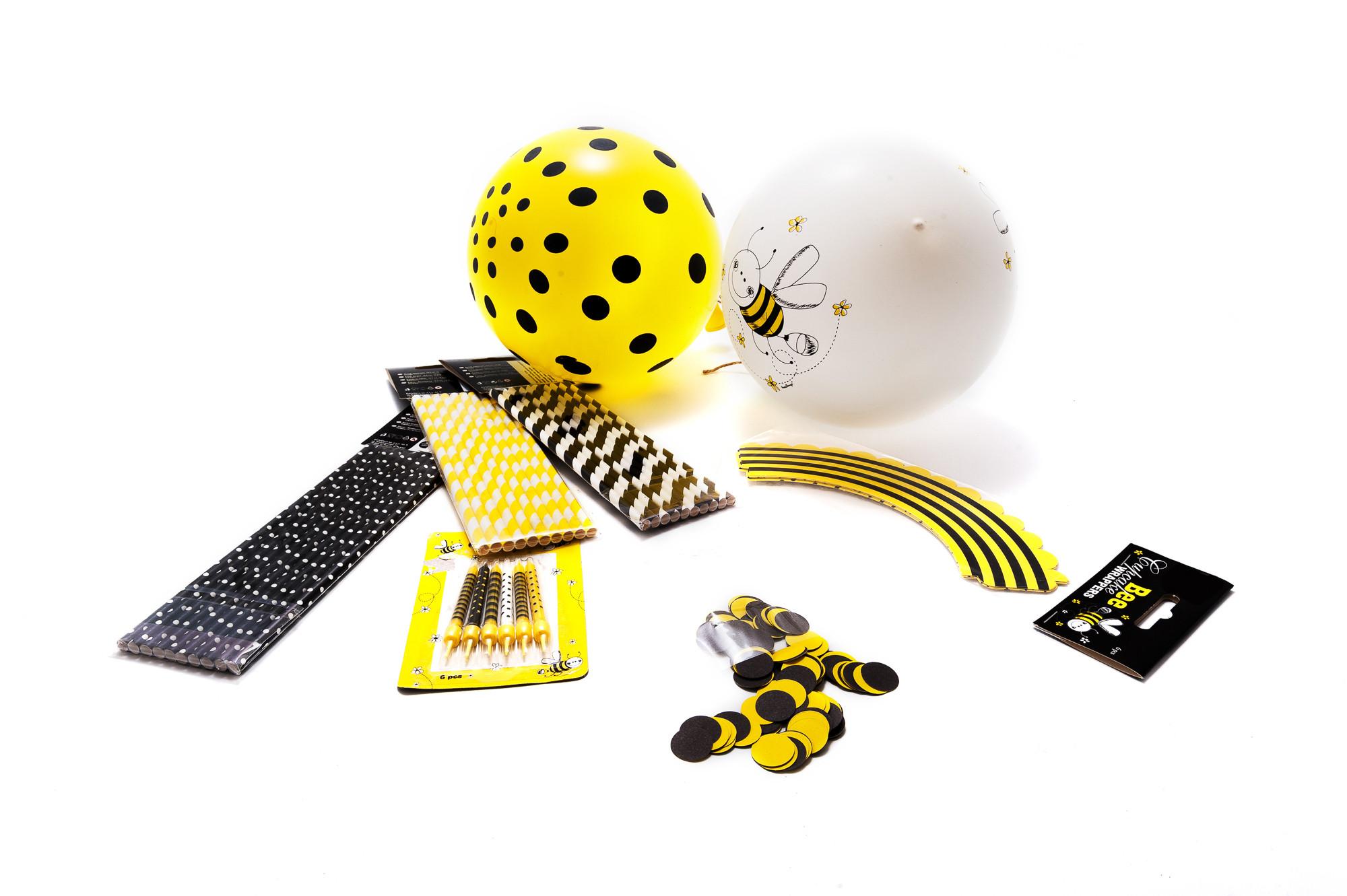 Party set - žlutý
