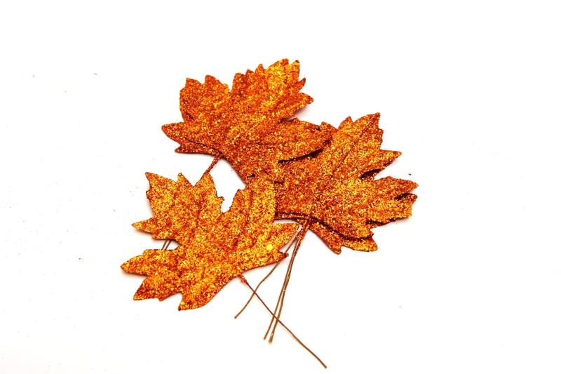 Javorový list lesklý, 16 cm
