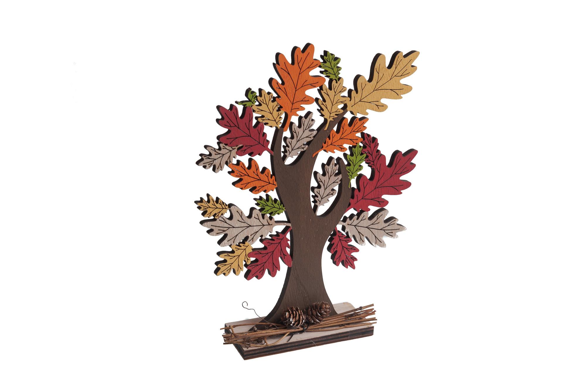 Podzimní strom 23 x 18 cm