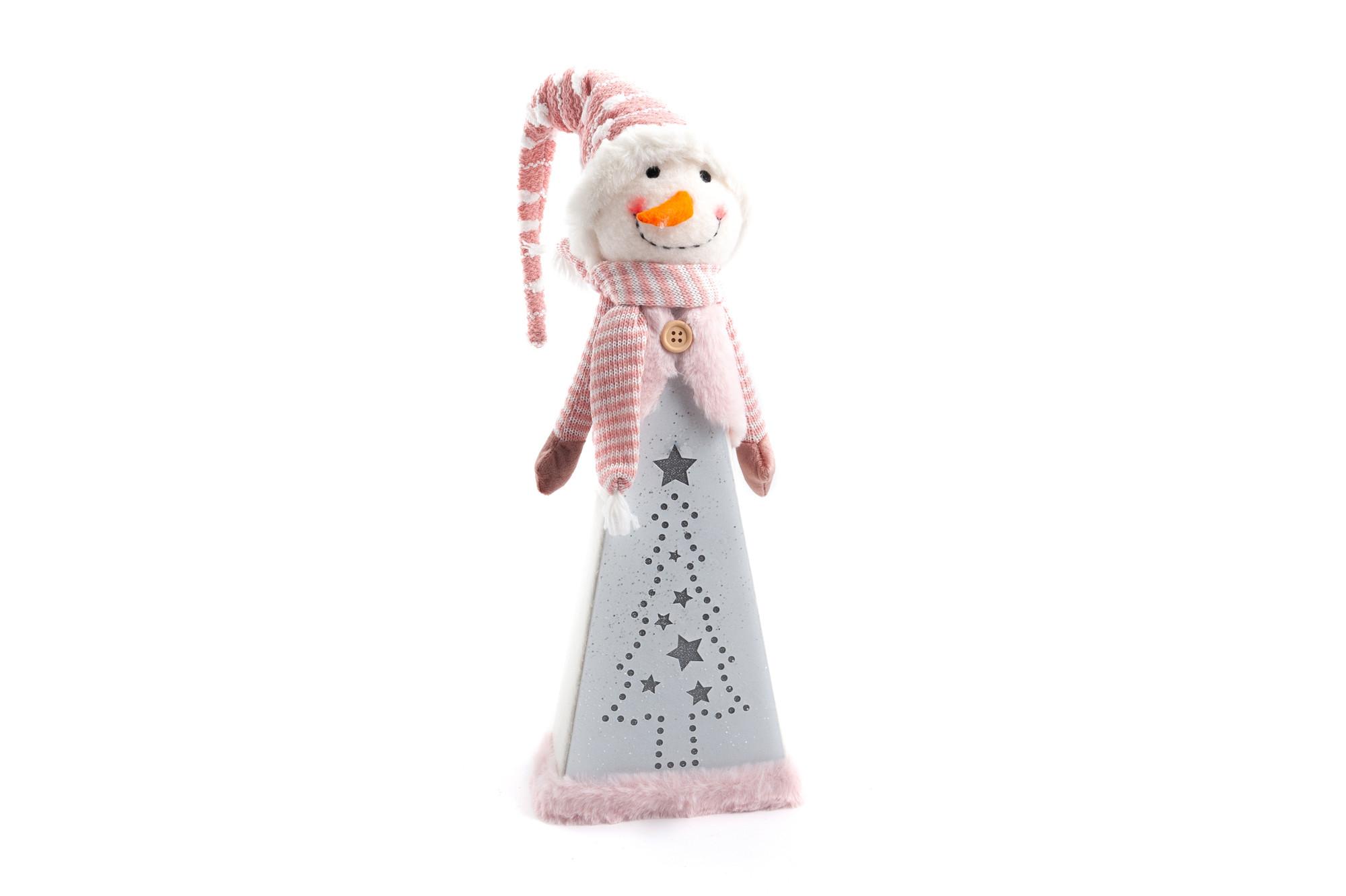 Svítící sněhulák Viky 62 cm
