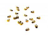 Včelky 1,5 cm, 24 ks