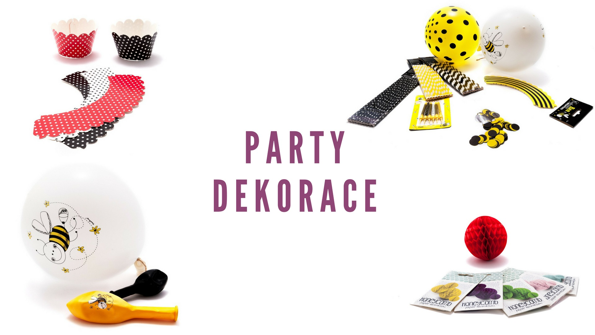 party dekorace